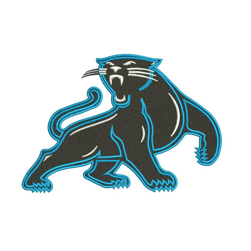 best quality 32a43 a926a Carolina Panthers embroidery design INSTANT download
