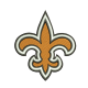 New Orleans Saints embroidery design,machine embroidery, embroidery designs, embroidery design, embroidery machine, embroidery file, embroidery, logo, Patterns, Applique design, Applique designs, Appliques, NFL embroidery, american football, Football Embroidery, football team logo, Football design,
