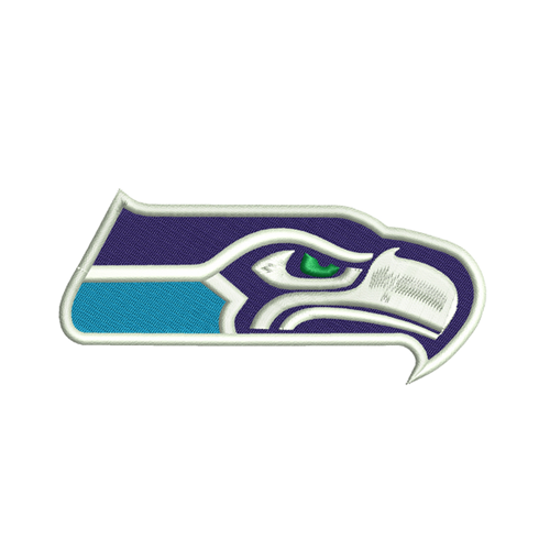 Seattle Seahawks embroidery design INSTANT download