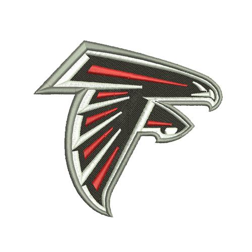 Atlanta Falcons embroidery design, machine embroidery, embroidery designs, embroidery design, embroidery machine, embroidery file, embroidery, logo, Patterns, Applique design, Applique designs, Appliques, NFL embroidery, american football, Football Embroidery, football team logo, Football design,