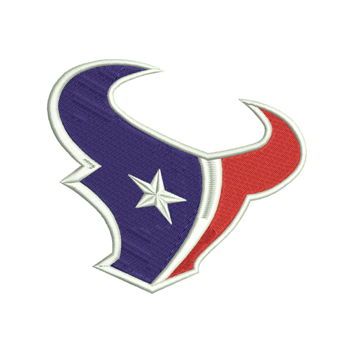 Houston Texans embroidery design, machine embroidery, embroidery designs, embroidery design, embroidery machine, embroidery file, embroidery, logo, Patterns, Applique design, Applique designs, Appliques, NFL embroidery, american football, Football Embroidery, football team logo, Football design,