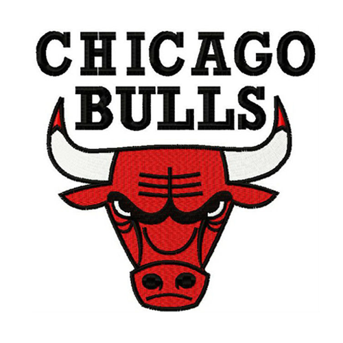 Chicago Bulls embroidery design INSTANT download, Chicago Bulls logo embroidery design INSTANT download, Chicago BullsMachine Embroidery design