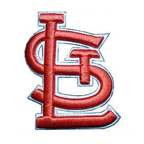 St. Louis Cardinals 3D Puffy embroidery design logo INSTANT download, St. Louis Cardinals logo 3D Puffy embroidery design logo INSTANT download
