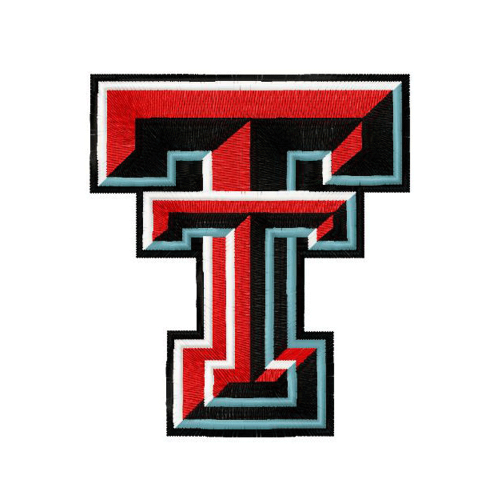 Texas Tech Red Raiders embroidery design INSTANT download, Texas Tech Red Raiders logo embroidery design INSTANT download, Texas Tech Red Raiders logo
