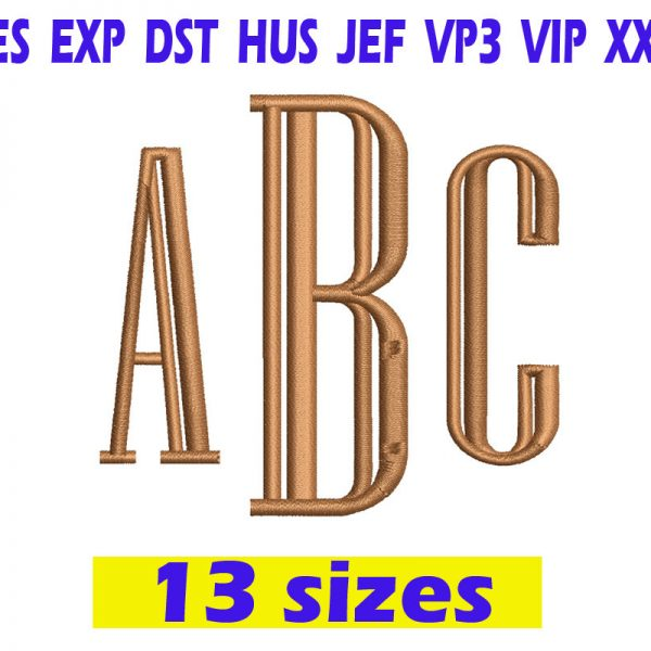 Engraved Monogram Embroidery Instant Download Engraved Monogram Embroidery