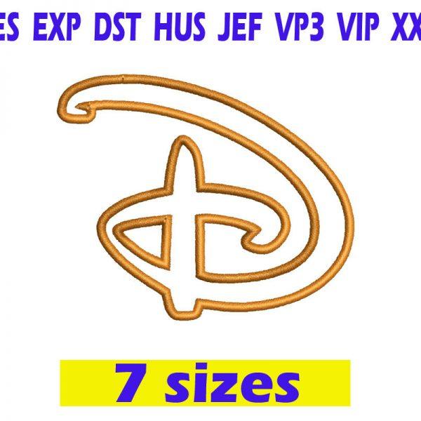 Walt Disney Applique Font Embroidery INSTANT download Walt Disney Applique Font Embroidery