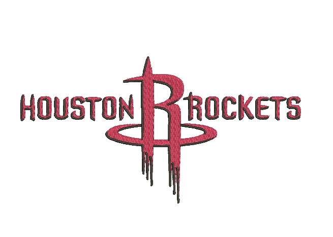 Houston Rockets Embroidery Design INSTANT download
