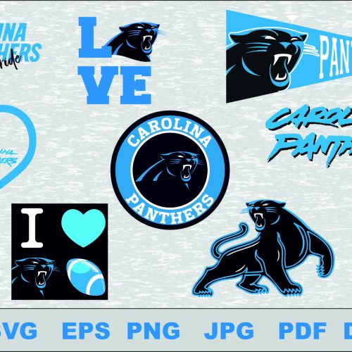 Carolina Panthers svg, Carolina Panthers cut files, Carolina Panthers vector, Carolina Panthers T-shirt design, Carolina Panthers circut, Carolina Panthers silhouette cameo, Carolina Panthers Layered, Carolina Panthers Transfer Iron, Carolina Panthers Cameo Cricut,