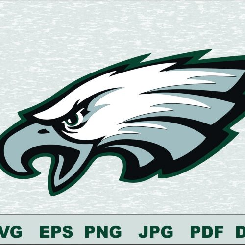 Philadelphia Eagles SVG DXF Logo Silhouette Studio Transfer Iron on Cut File Cameo Cricut Iron on decal Vinyl decal Layered Vector