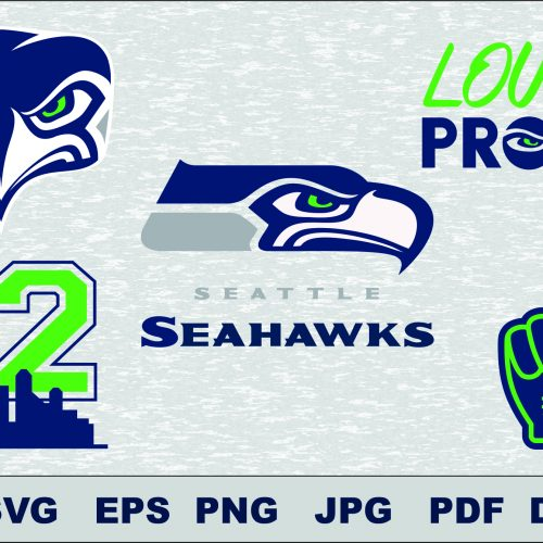 Seattle Seahawks svg, Seattle Seahawks cut files, Seattle Seahawks vector, Seattle Seahawks T-shirt design, Seattle Seahawks circut, Seattle Seahawks silhouette cameo, Seattle Seahawks Layered, Seattle Seahawks Transfer Iron, Seattle Seahawks Cameo Cricut,