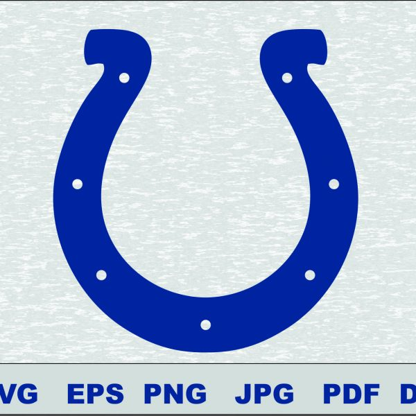 Indianapolis Colts SVG DXF Logo