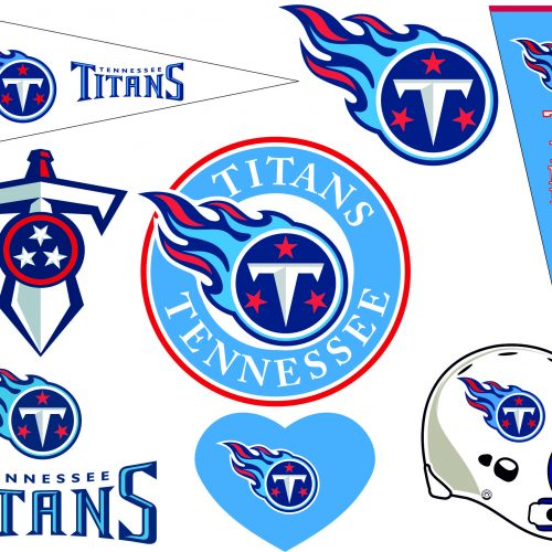 Tennessee Titans SVG DXF Logo Scalable Silhouette Studio Transfer Iron on Cut File Cameo Cricut Iron on decal Vinyl decal Layered Vecto